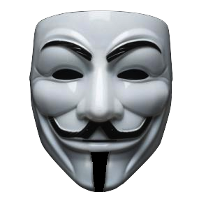 Anonymous Mask Funny Png Transparent
