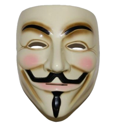 Anonymous Smiling Mask Png Transparent Images