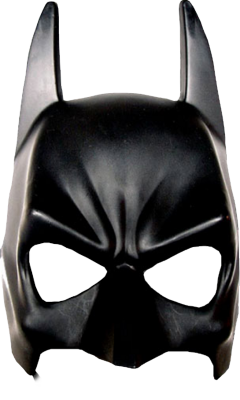Black Batman Mask Png Transparent