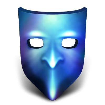 Blue Mask Icon Png
