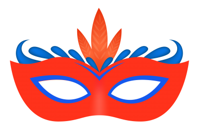 Carnival Eye Mask Png image PNG Images