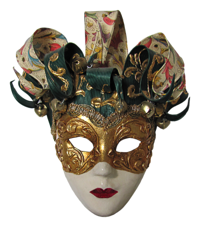 Carnival Mask Girl Png