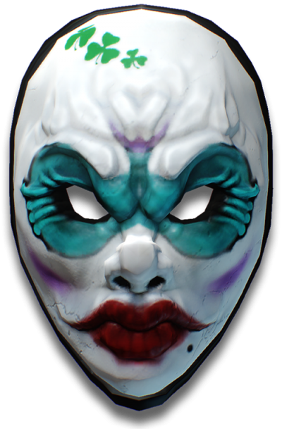 The Diamond Heist Mask Png PNG Images
