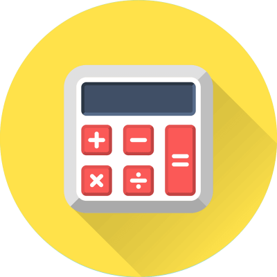 Yellow Calculator Logo icon Math Transparent Photo Free Download PNG Images