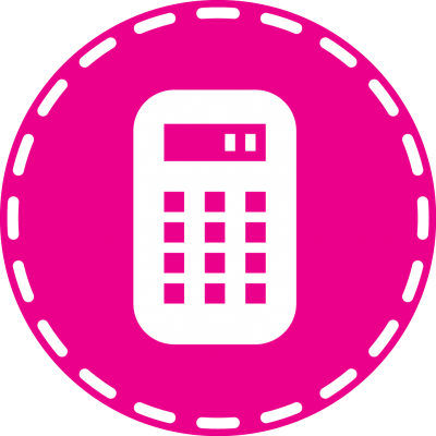 Pink Computing Machine, Math Transparent images Hd Clipart PNG Images