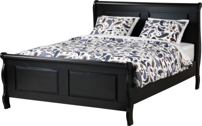 Black Beds, Sponges, Sheets, Quilts, Bunk Beds, Base,  Png