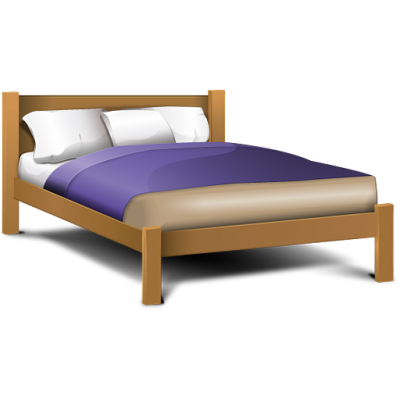 Double Bed, Hospital Bed, Sleep, Soft,  Png Image
