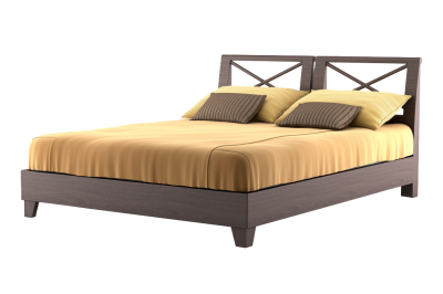 Queen Bed, Wood, Classic Mattress, Special Mattress, Images