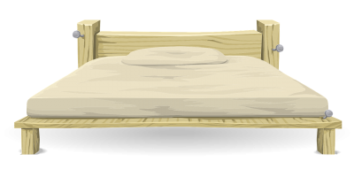Sponges, Sheets, Quilts, Bunk Beds, Base, Bed Clip Art