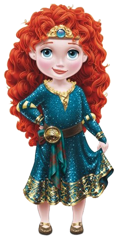 Baby Merida Clipart PNG Images