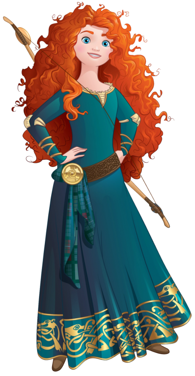 Disney Merida Transparent Images