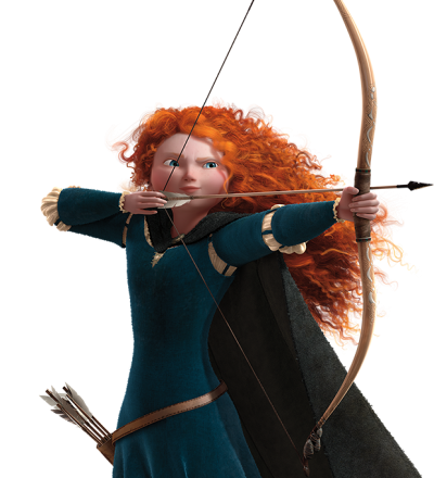Disney Princess Merida Archer Photo PNG Images