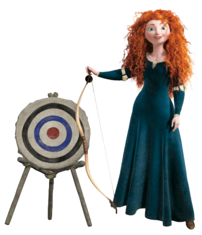 Merida Archer Clipart PNG Images
