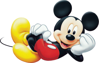 Reclining Mickey Mouse Png Clipart, Cartoon, Disney PNG Images