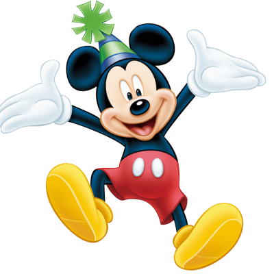 Joyful Mickey Mouse Photo Clipart PNG Images