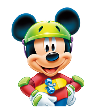 Game, Mascot, Smiling Mickey Mouse Transparent Photo With A Helmet PNG Images