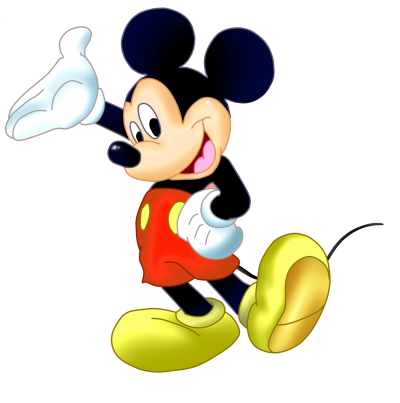 Mickey Mouse Clipart Picture Fictional Cartoon Character PNG Images