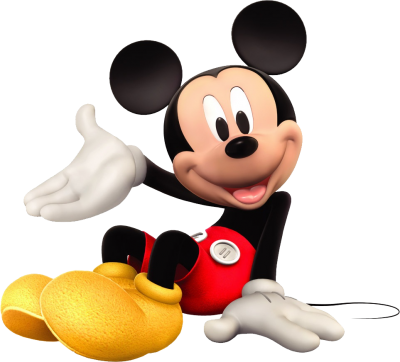 Cute Sitting Mickey Mouse Clipart Photo HD PNG Images