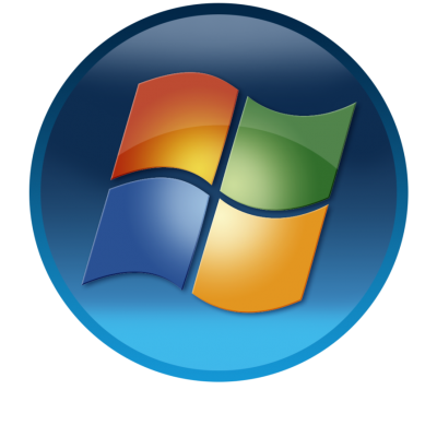 Microsoft Windows Circle Logo PNG Picture