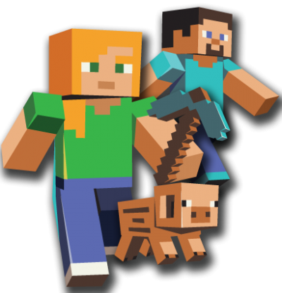 Minecraft Transparent Background PNG Images