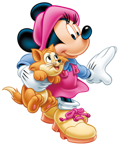 Cats And Minnie Mouse Png Transparent Images