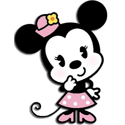 Pink Baby Minnie Mouse Png
