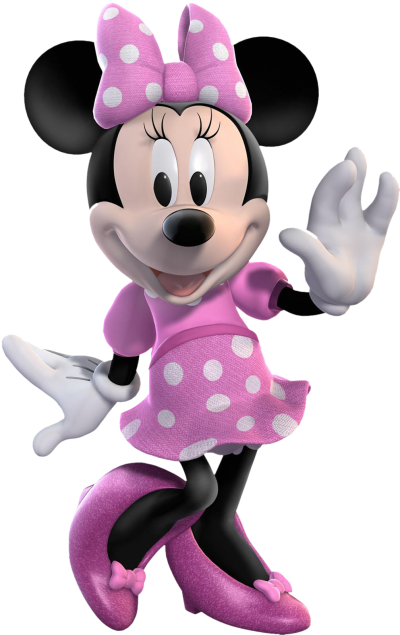 Purple Minnie Mouse Png Transparent