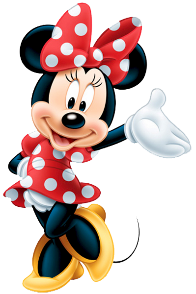 Red Disney Princess Minnie Mouse Png PNG Images