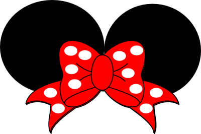 Red Ribbon Minnie Mouse Clip Art At Pic PNG Images