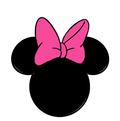 Ribbon Minnie Mouse Ears Png Clipart