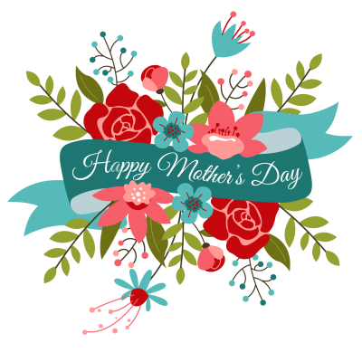 Happy Mothers Day Bouquet Transparent Png PNG Images