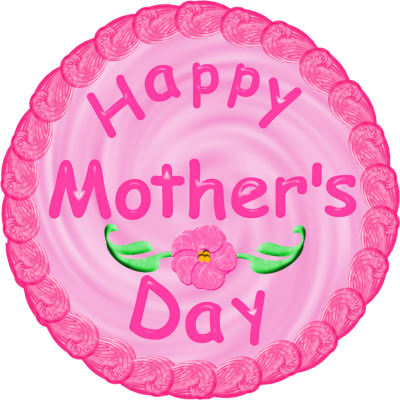 Mothers Day Caketop Picture PNG Images