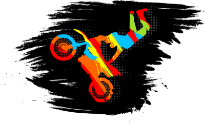 Motocross Cut Out PNG Images