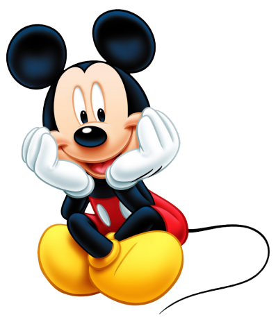 Male Character Mickey Mouse Png Free Download PNG Images