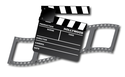 Hollywood Movie Strip Transparent Png PNG Images