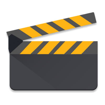 Yellow Gray Movie Studio icon PNG Images