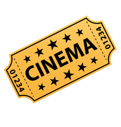 Yellow Movie Ticket Png Transparent PNG Images