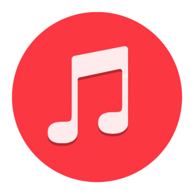 Music Yosemite Flat Icons Png PNG Images