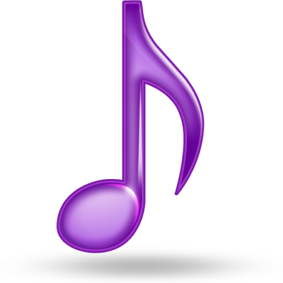 Purple Music Icons, Pictures
