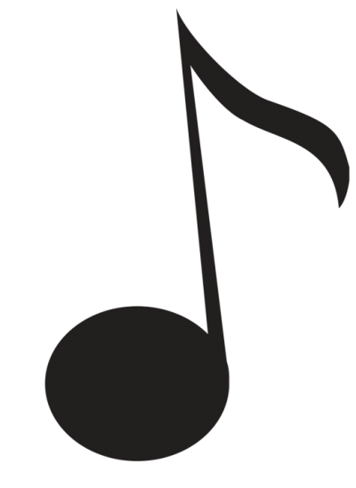 Black Music Notes Png