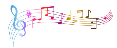Music Notes Colourful Transparent Png