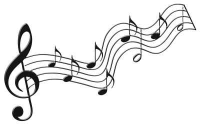 Png Music Notes, Melodi Clipart