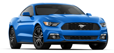 Blue Mustang Clipart Transparent