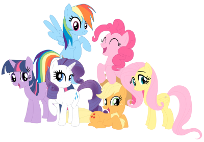 My Little Pony Team İmages Transparent