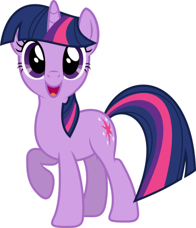 My Little Pony Purple Photo Transparent