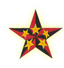 Clipart Icon Nautical Star Tattoos
