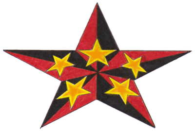 Nautical Star Tattoos Free Download Transparent