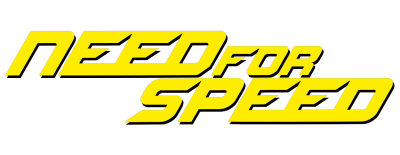 Need For Speed Movie Logo Yellow Cut Out PNG Images