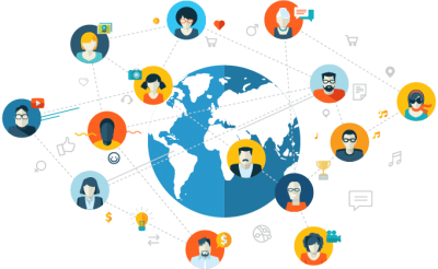 Networking Vector PNG Images