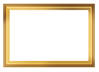 PNG Gold Frame Picture PNG Images